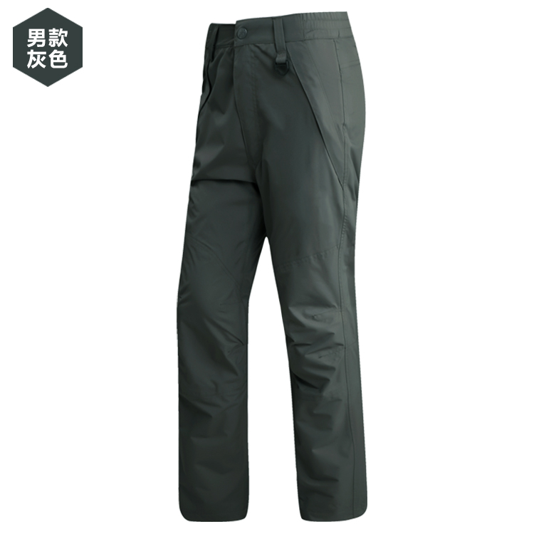Special autumn and winter of the new soft shell of the new quality soft shell pants male outdoor couple anti Feng Shui