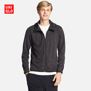 Mens DRY-EX Zip Hooded cardigan (long sleeved) 195801 UNIQLO UNIQLO