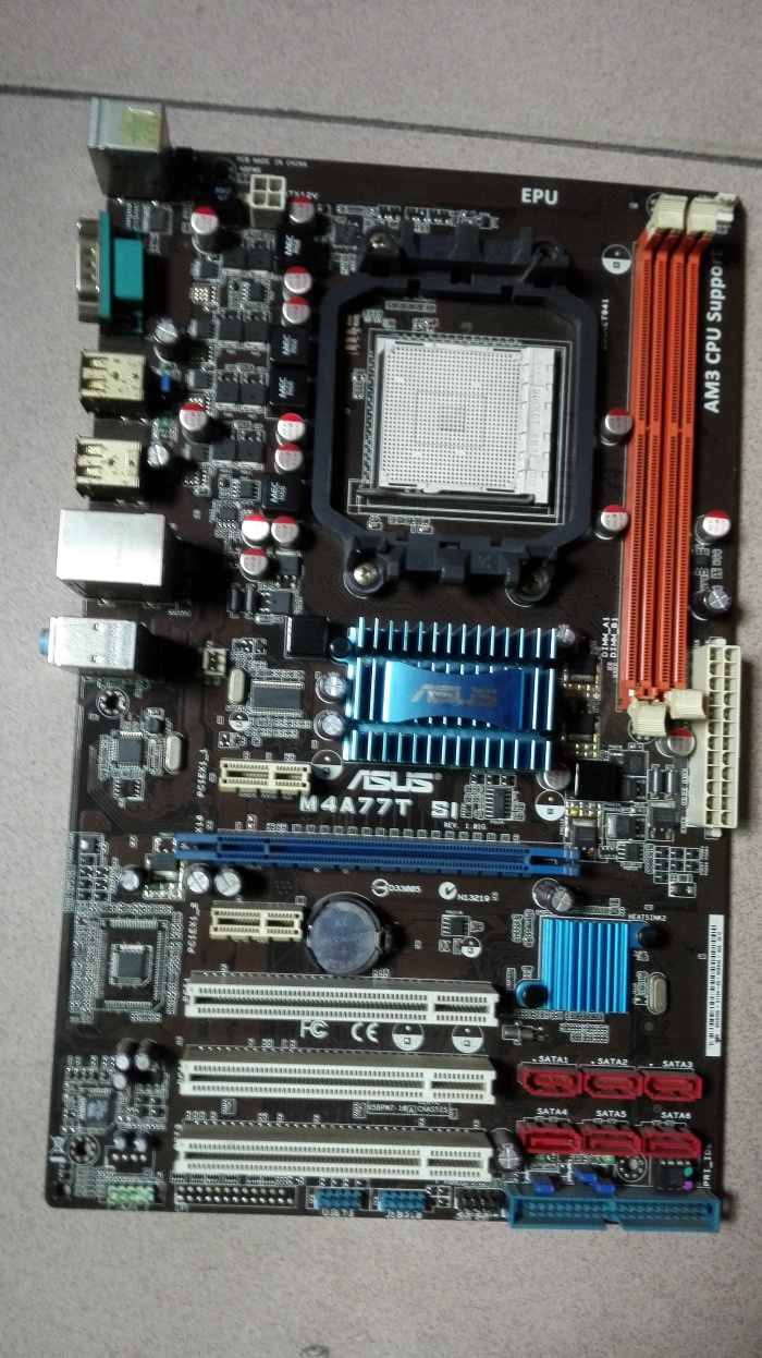 Asus M4A77T SI computer motherboards AM3 gigabit AMD240 250 quad-core CPU 938 needle