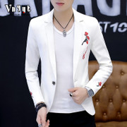 Men's spring and autumn thin suit young male Korean slim type jacket casual suit jacket handsome fashion