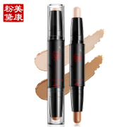 Meiking bronzing stick double high light to brighten the silhouette Xiu Yan nose shadow pen bronzing powder second face V