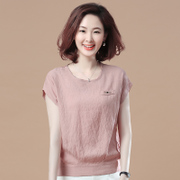 The autumn Xuan short sleeved T-shirt blouse new summer T-shirt all-match Korean loose bat sleeve T-shirt girl