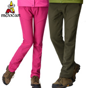 The scarecrow outdoor soft shell pants for men and women lovers wear thick warm pants waterproof mountaineering