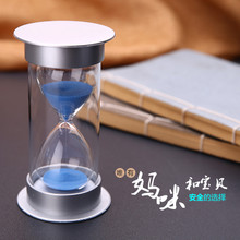Hourglass children fall 30 minutes small ornaments creative living room decorations Home Furnishing birthday gift