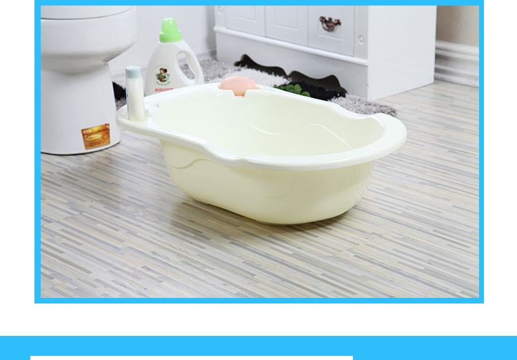 Baby baby bath bath tub bath newborn children lying child supplies large thick