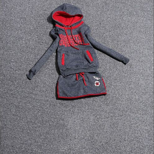 2015 new autumn sport suits women autumn and winter fashion casual hooded sweater two piece set