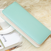 The new special 2015 Ladies Purse Ladies zipper Cute Pink Wallet mobile phone on Korean Students