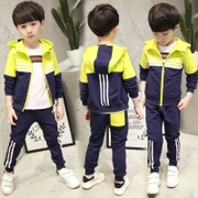 Kids Boys autumn suit 2017 new children children's movement in spring and autumn are male Korean tide clothing