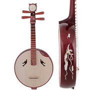 Nguyen musical instruments playing professionally beginner special metal flower bone carving rosewood Nguyen gift accessories
