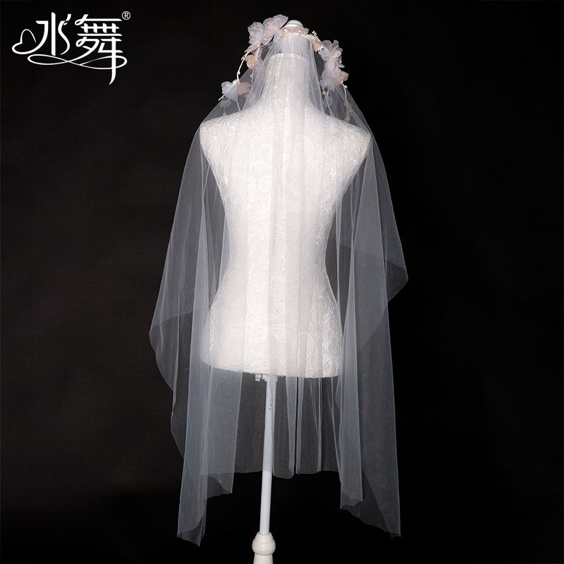 The new dance sweet flowers wreath bride veil wedding wedding accessories accessories and other accessories R0186