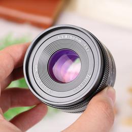七工匠50mmF1.8大光圈微单定焦镜头e卡口佳能索尼口 小痰盂50 1.8