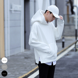 The main supermodel spring men's simple Korean version of the net color wild dragon style men's hooded hat sweater tide