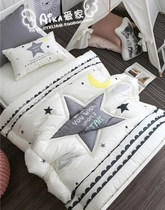 Direct mail purchase childrens bedding star in Korea and Yunnan-Guangdong kapok fall winter childrens quilt pillow case padded quilt