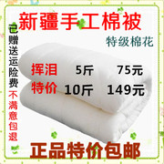 A special offer 2016 Xinjiang long staple cotton cotton quilt quilt cotton quilt core mattress pad by the spring and autumn and winter