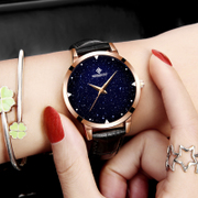 Ladies fashion watch waterproof 2017 new trend of Korean students simple leisure atmosphere model ulzzang