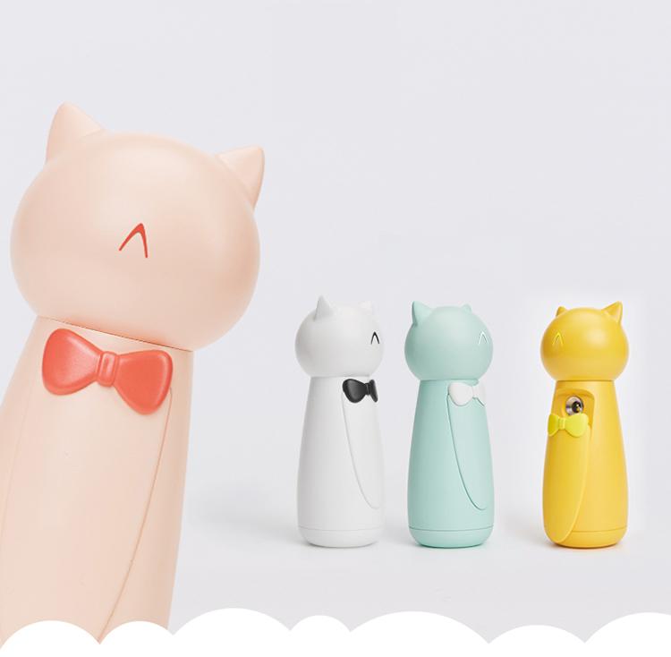 可爱猫咪usb桌面加湿器迷你小巧便携纳米保湿喷雾补水仪可充电