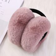 The new version of folding earmuffs earmuffs lovely hair female in autumn and winter warm ear ear ears warm bag for men and women