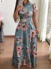 women long Full dress 2019 latest ladies formal dresses