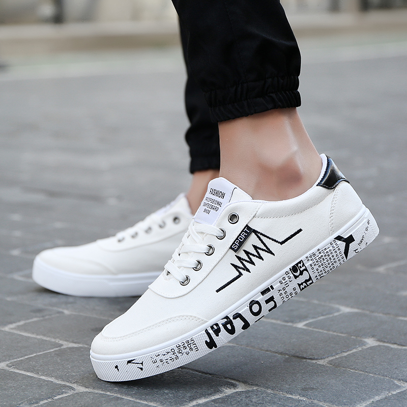 The 2017 summer sports shoes men's casual shoes trend of Korean white shoe shoes all-match new students