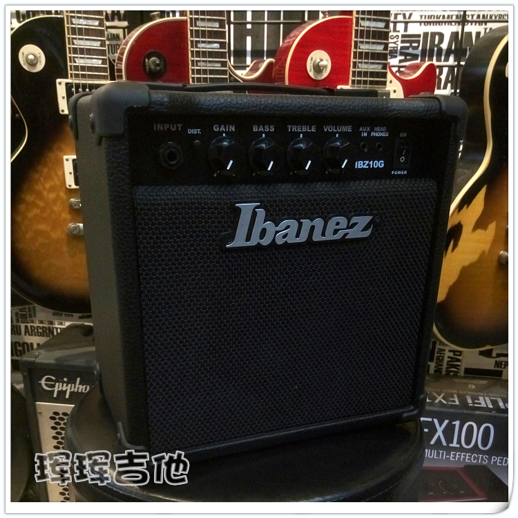 Sample Ibanez special offer Ibanez IBZ10G mini portable audio entertainment travel electric guitar