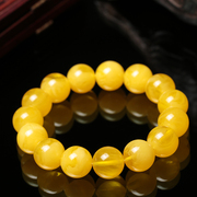 Is coming to an end a dollar auction chicken oil huang Lao beeswax hand round bead bracelet with amber beads hand bead men and women