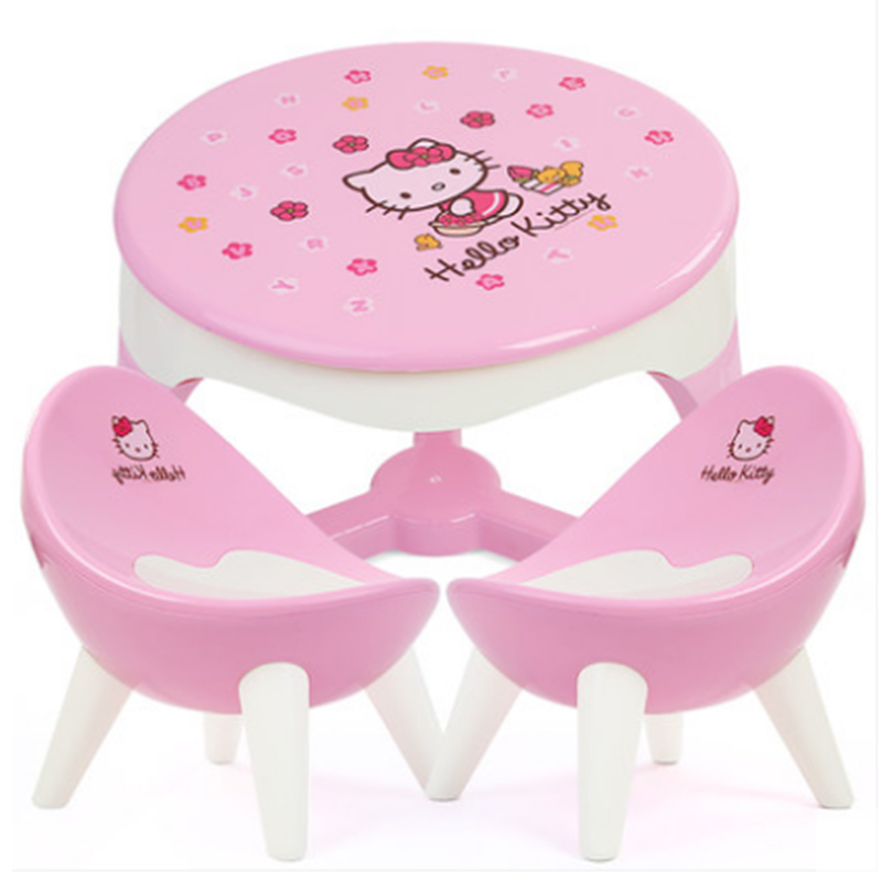 Kindergarten desk chair baby learning table set table table plastic toys for children children's books