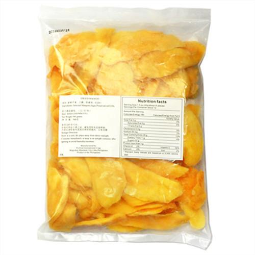 菲律宾风味芒果干500g酸甜软糯无色素果干类水果干蜜饯果脯