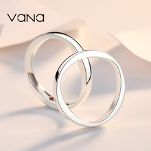 VanA set SWAROVSKI zirconium Sterling Silver couple rings