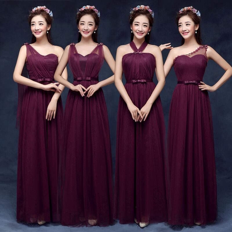 2017 new maid of Bridesmaid Dress