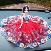 Shipping sales car decoration doll doll Princess Doll car accessories external appearance roof decoration