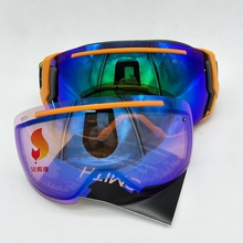 The United States Smith Smith ski goggles double anti fog adult spherical mirror IE7CPSSPL17 ski