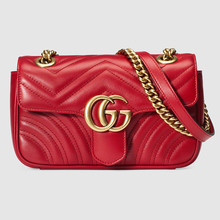 Pre sale Gucci Gucci women's bag GG Marmont Mini chain Single Shoulder Messenger Bag 446744