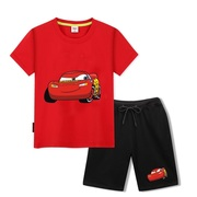 Auto story children's wear summer new lightning Mai Kun children's shirt boy pure chintz head short sleeve T-shirt