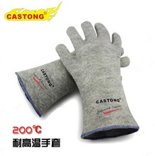 200 degrees high temperature resistant gloves cast meal industrial insulation high-temperature scald proof gloves gloves safety gloves.