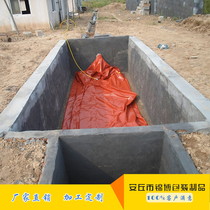 Manufacturers selling upholstered folding PVC large thickening of methane-generating pit outdoor ecological farms biogas digester biogas