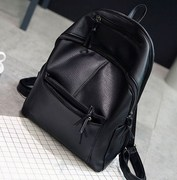 Backpack female han edition three with contracted multi-purpose school wind lady handbags joker 2017 new backpack