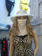 Special offer 100% silk scarf with a mask bra.
