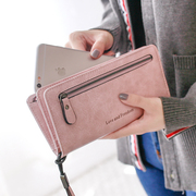 Ms. wallet 2017 new female Korean students personality tide zipper multifunction Long Large Wallet