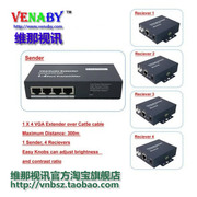 Victoria Video 1 points 4 VGA cable extension /VGA cable / support 3D/1080P/ lightning / special