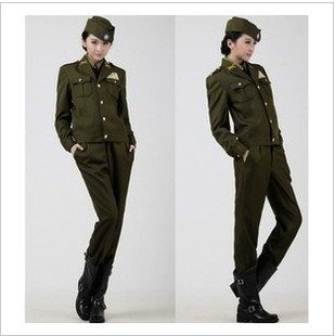 Special American uniform officers wear uniforms of the Republic party of the Kuomintang KMT spy officer for men and women clothing