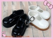 BJD doll SD doll 1/4 shoes black and white Volks DOD soom DOD AI