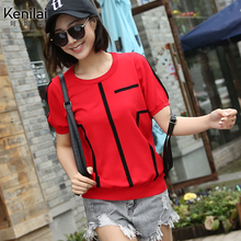 Female T-shirt short sleeved loose 2017 Korean women fashion female Xia Han van simple short sleeved summer dress female T-shirt