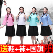 Republic of China Women's clothing loaded with 54 young people in the wind back to the old school uniforms uniforms Choir costumes