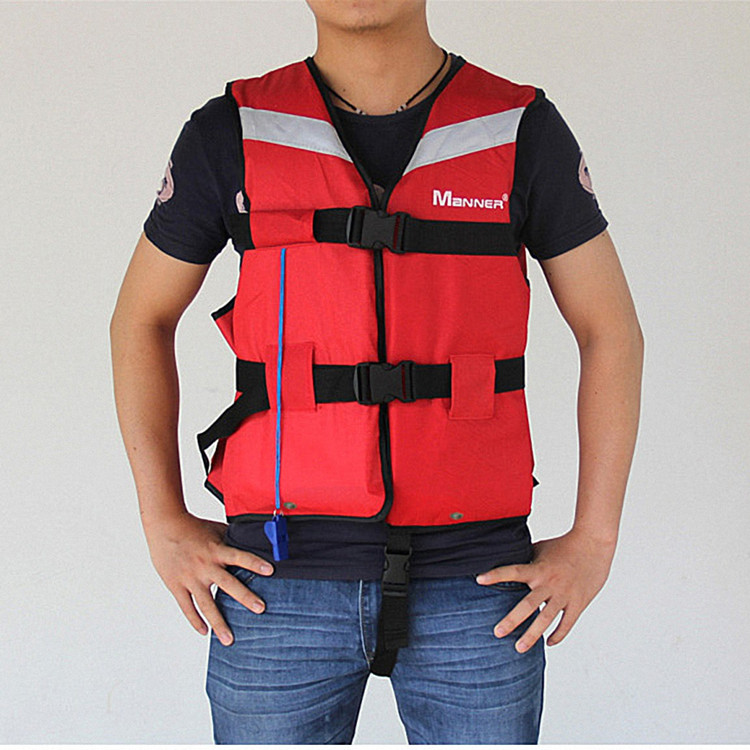 Adult life jacket fishing vest safety fold buoyancy vest Super swimming flood survival suits