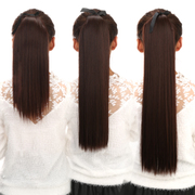 Long hair wig, short hair braids Mawei band simulation of realistic and natural hair wigs in tablets