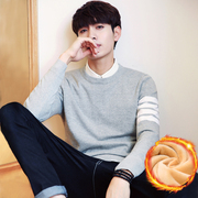 The winter men's sweater cashmere T-shirt with Korean turtleneck sweater thick jacket sweater autumn student tide