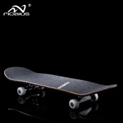 Moebius four wheeled skateboard skate beginners highway adult children double Alice Young Maple skateboard scooter
