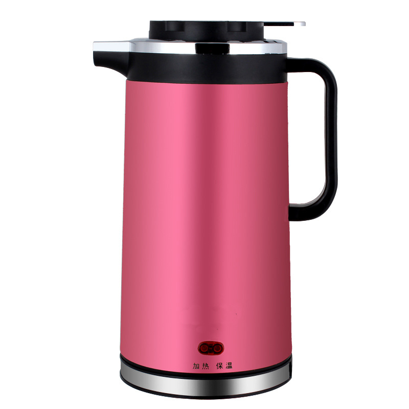 Commercial double layer insulation, plug-in portable stainless steel mini electric automatic power-off kettle 1.8L large capacity