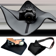 The spring Shunfeng folding cloth liner bag backpack Camera SLR Lens photography tripod head cloth three