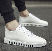 Spring and summer white shoes shoes white shoes shoes increased trend of Korean men all-match sports shoes